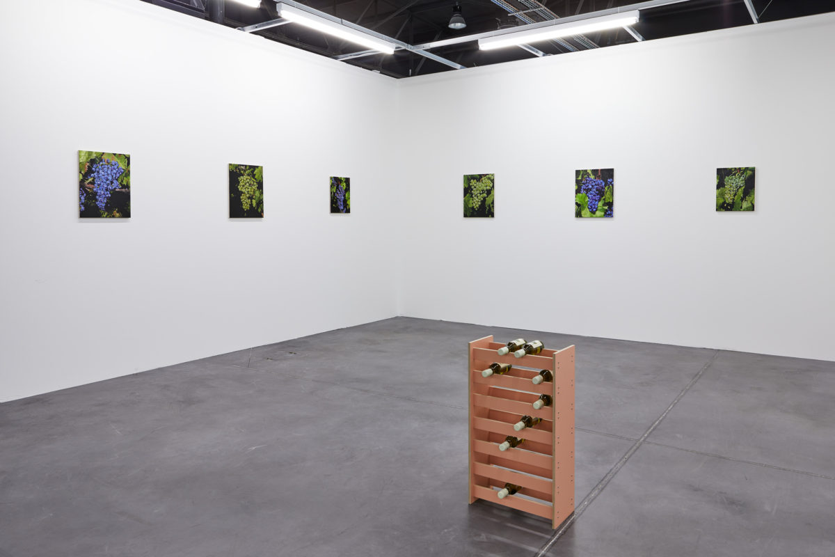 Union Pacific – Jan Kiefer - Installation view of Art-O-Rama booth, Summer 2019