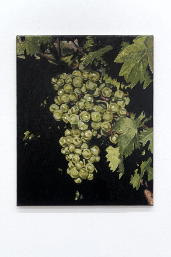 Union Pacific – Jan Kiefer - Pinot Blanc 04, 2019, Oil on Canvas, 50 cm x 40 cm