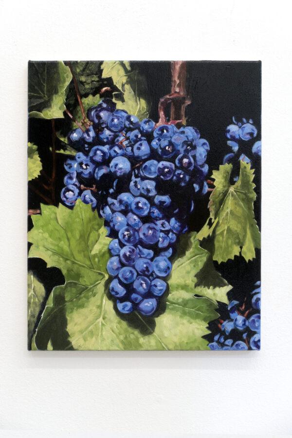 Union Pacific – Jan Kiefer - Pinot Noir 03, 2019, Oil on Canvas, 50 cm x 40 cm