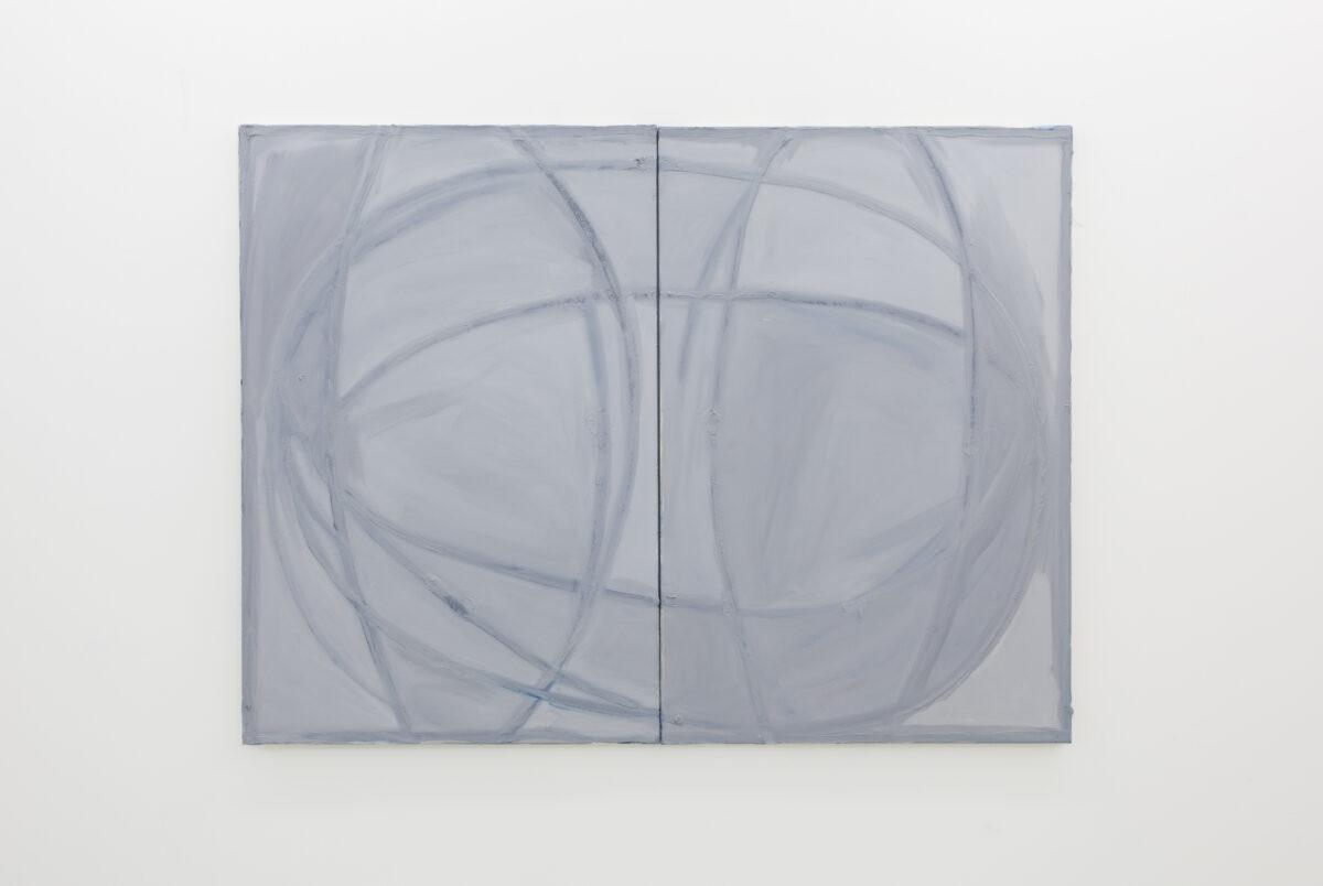 Union Pacific – Max Ruf - Untitled, 2019, Oil on Canvas, 120 cm x 280 cm