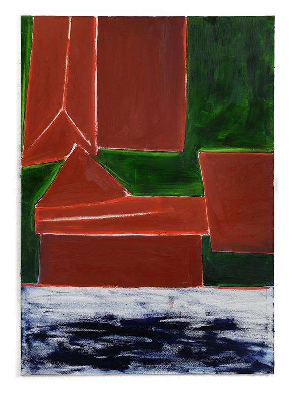 Union Pacific – Max Ruf - Max Ruf Haus 11, 2017 Oil on Canvas 195 x 135 cm