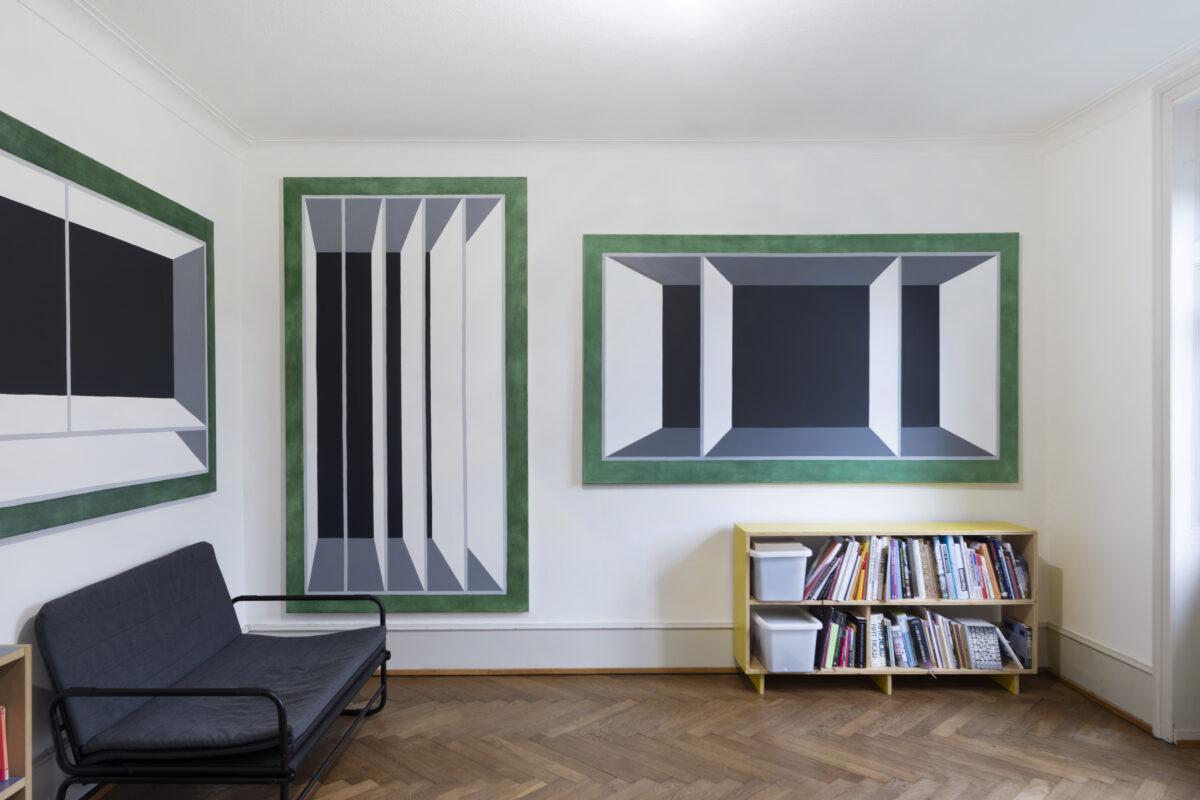 Union Pacific – Max Ruf - Volumen und Kapazität (installation view), 2021, die Treppe, Basel
