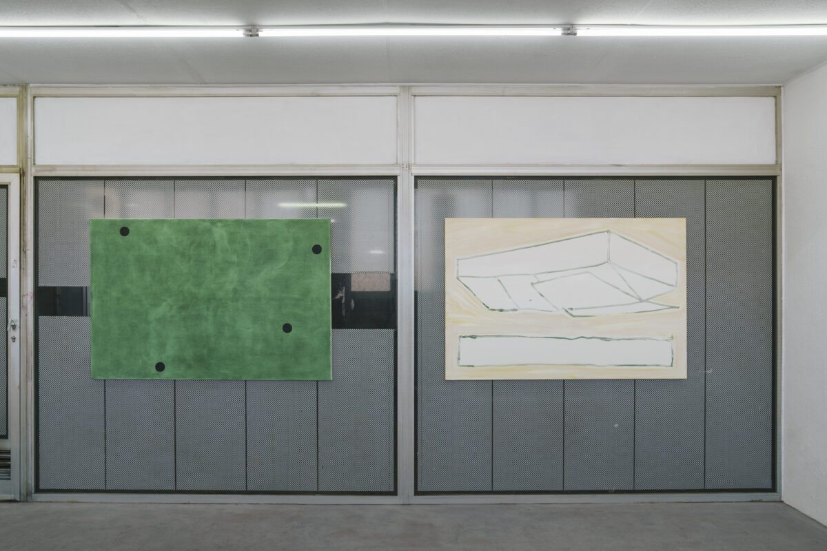 Union Pacific – Max Ruf - A room, two rooms (installation view), Kunsthalle Freeport, Porto, 2020