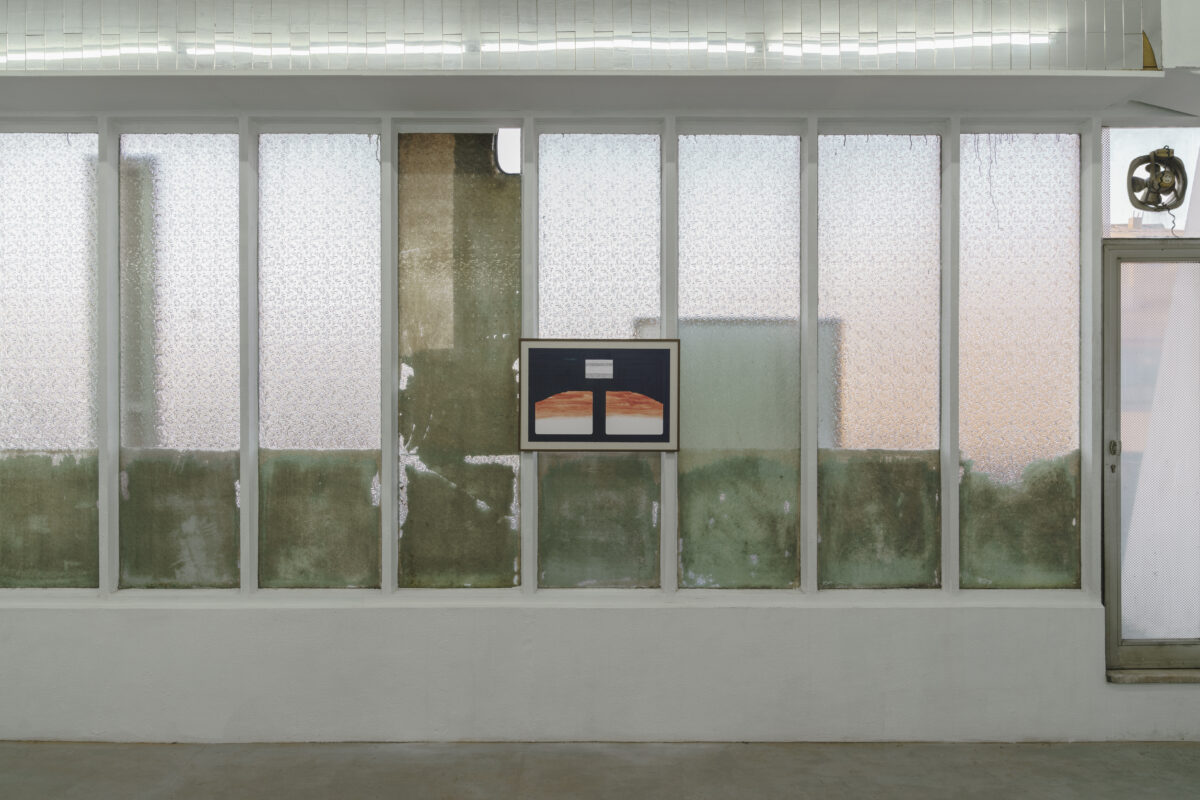 Union Pacific – Max Ruf - A room, two rooms (installation view), 2020, Kunsthalle Freeport, Porto