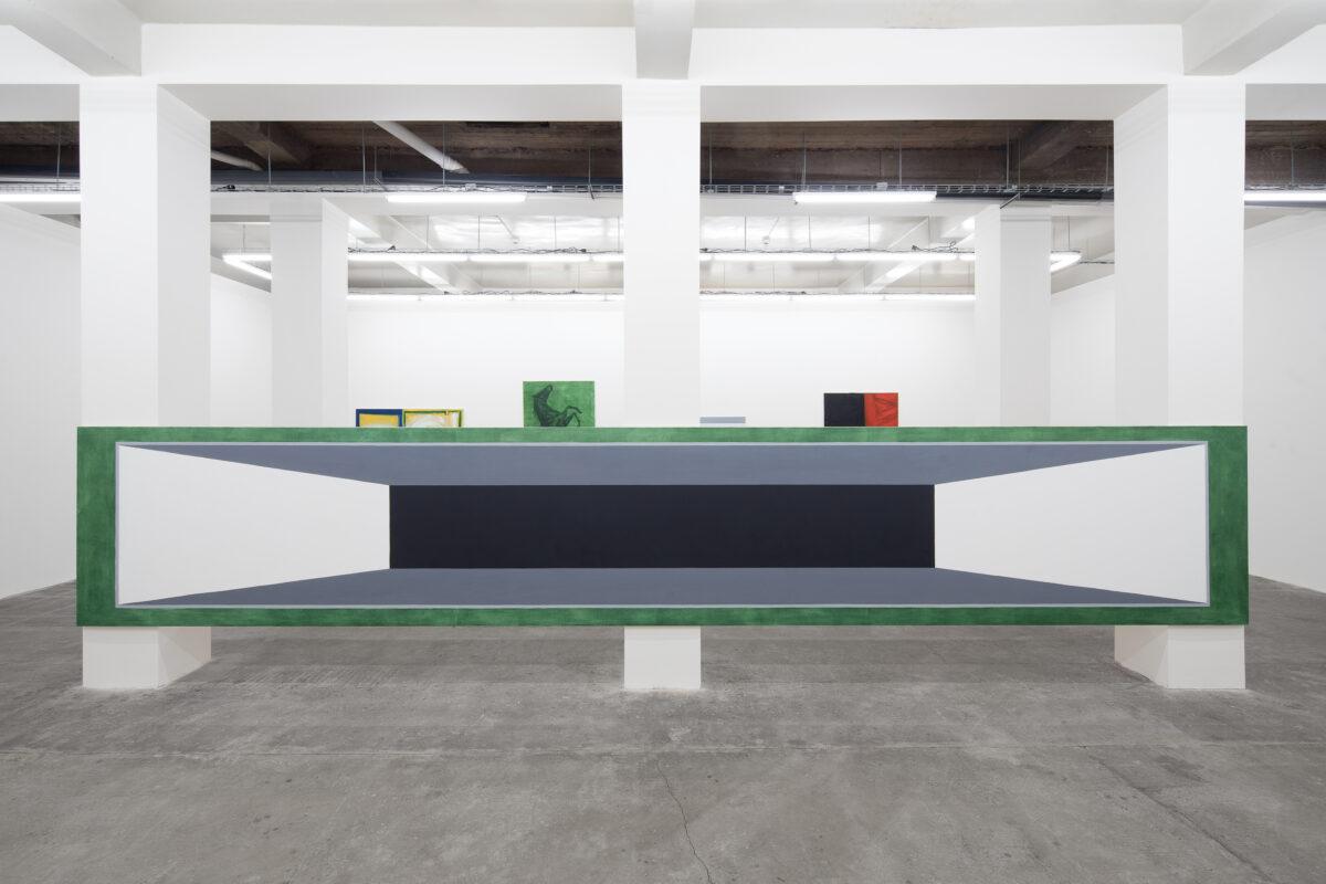 Union Pacific – Max Ruf - Zero (installation view), 2018, Svit, Prague