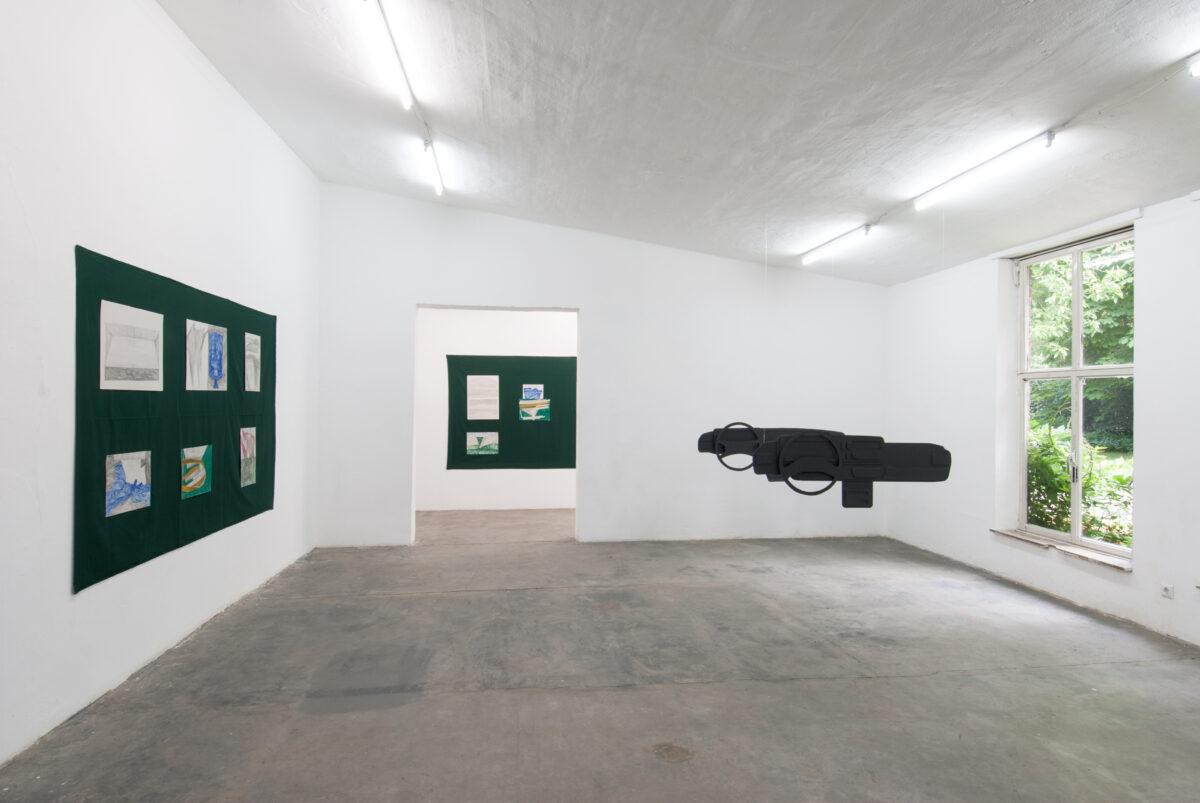 Union Pacific – Max Ruf - Toujours, 2016, Parkhaus, Kunstverein im Malkastenpark, Düsseldorf (Featured with Jan Kiefer)