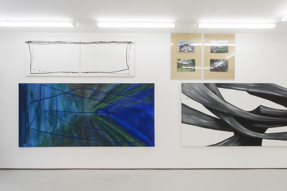 Union Pacific – Max Ruf - Phthalo Green (installation view), 2015, Union Pacific