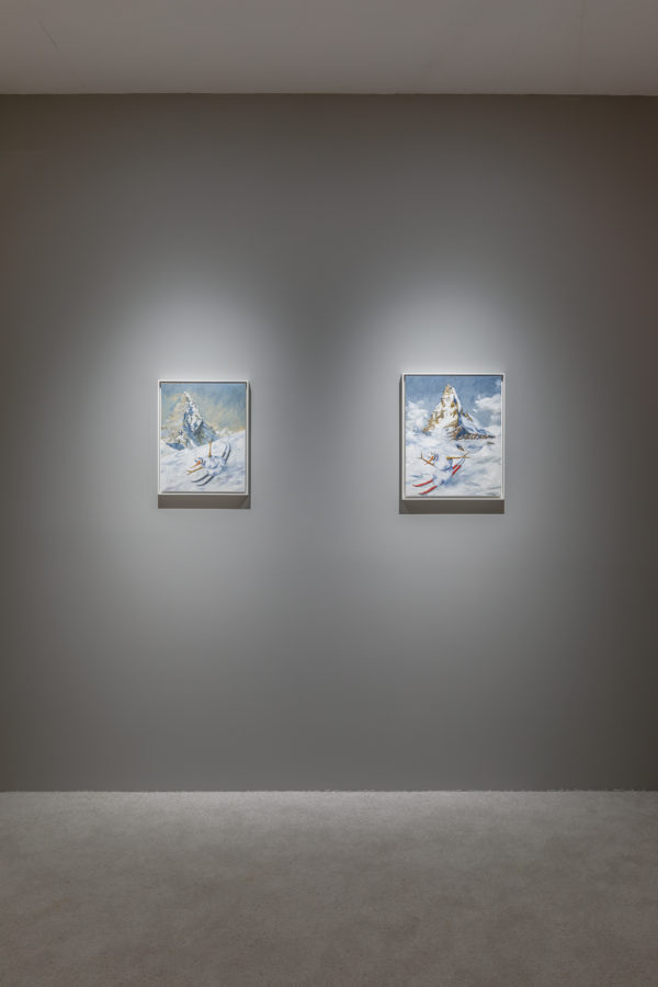 Union Pacific – Jan Kiefer - Installation view of Skiing Snowman at the Swiss Institute New York, US, 2019