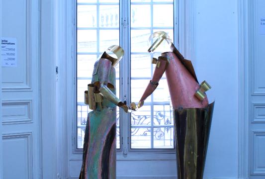Union Pacific – Paris Internationale 2015, Max Ruf and Caroline Mesquita