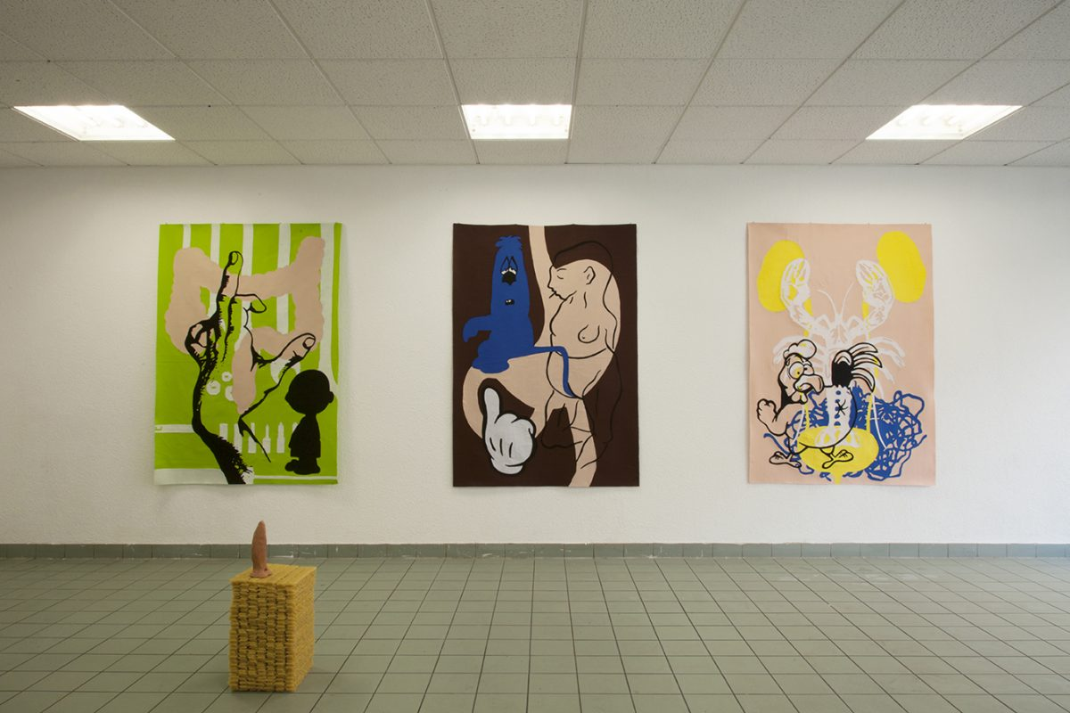Union Pacific – Yoan Mudry - Exhibition installation view of Economie Libidinale at Marbriers 4, Geneva, 2013
