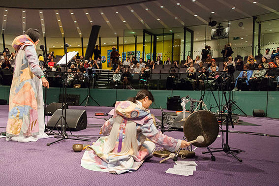 "Union Pacific – Zadie Xa - Perfumed Purple Rice and Sateen Songs for Sadie Live performance with Jihye Kim 2017 Serpentine Marathon, ""Guest Ghost Host: Machine! Marathon"" City Hall London https://ra- dio.serpentinegalleries.org/events/guest-ghost-host-machine-marathon/"