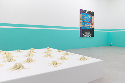 Union Pacific – Yoan Mudry - Exhibition installation view of Plumbing at Nicolas Krupp Gallery, Basel, 2015.