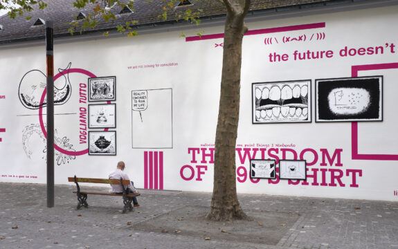 Union Pacific – Yoan Mudry - The Future Doesn't Need Us Back wall project