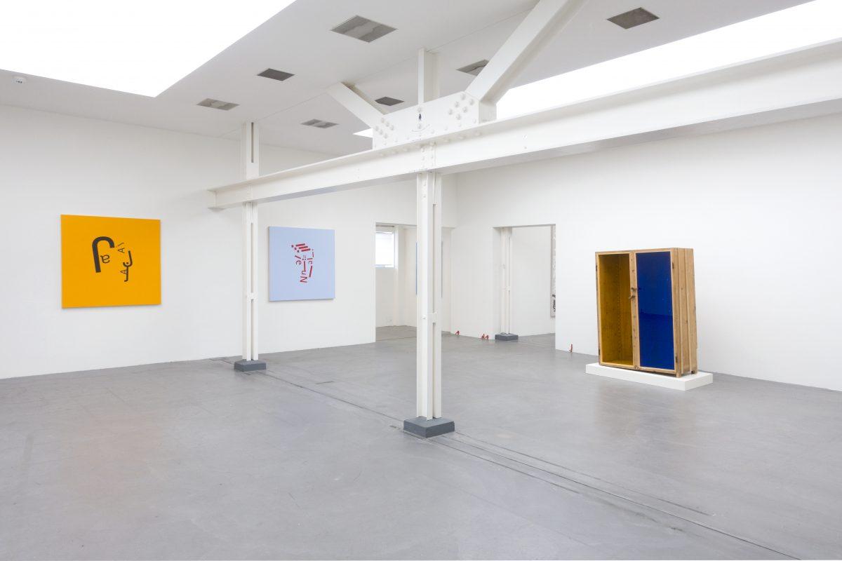 Union Pacific – Jan Kiefer - Installation view of Concrete Contemporary, group show at Museum Haus Konstruktiv, Zurich, 2019