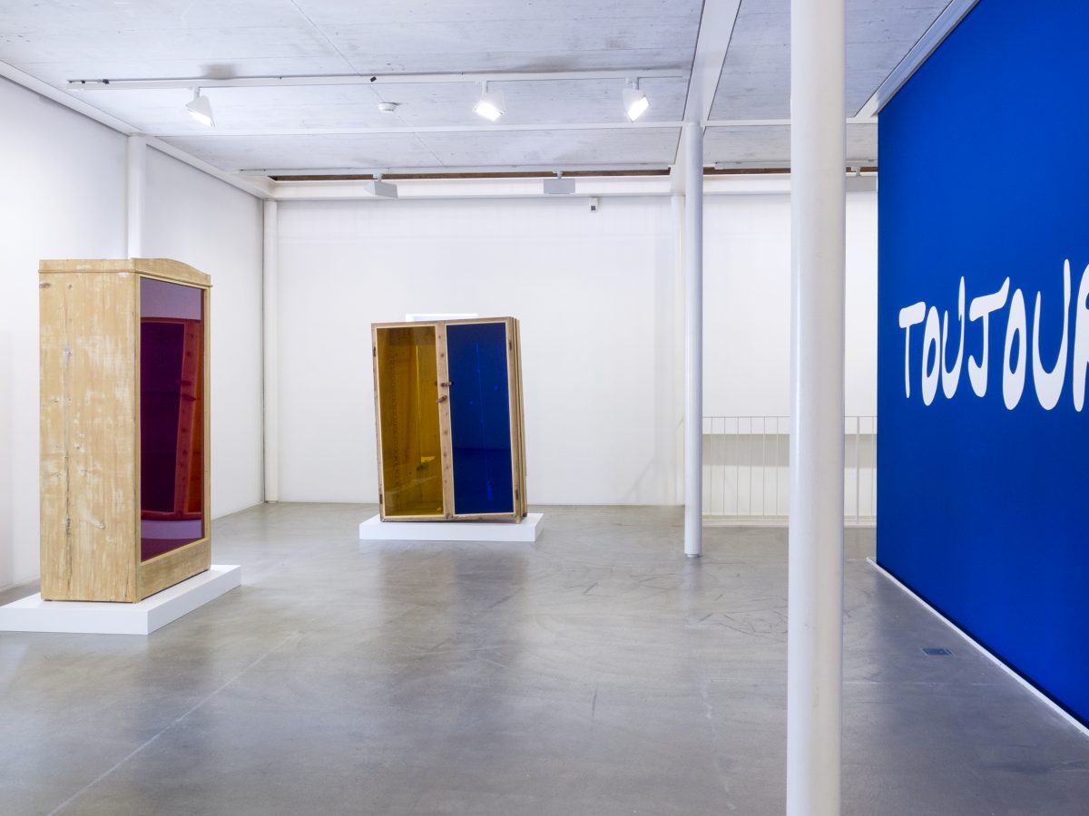 Union Pacific – Jan Kiefer - Installation view, Kunstraum Riehen, Basel 2017