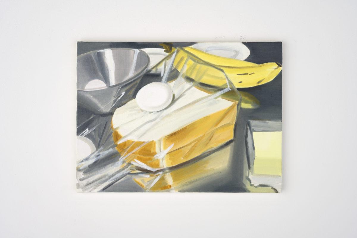 Union Pacific – Ulala Imai - Ulala Imai, BREAK FAST, 2020, Oil on canvas, 41.2 x 32 x 2 cm