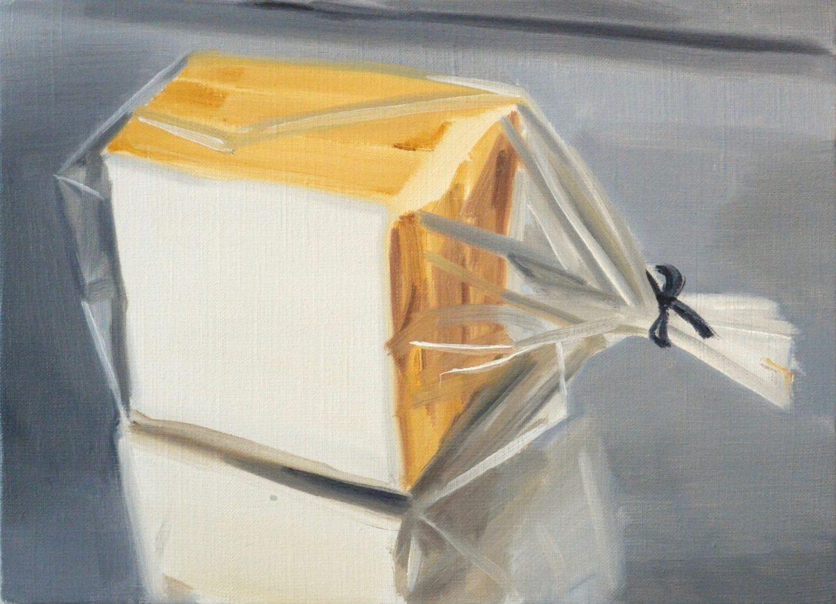 Union Pacific – Ulala Imai - Ulala Imai, BREAD, 2020, Oil on canvas, 24.2 cm x 33.3 cm