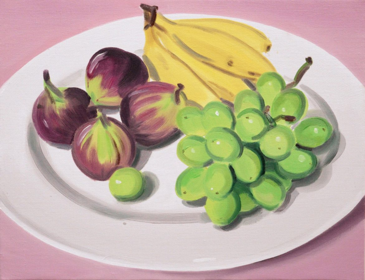 Union Pacific – Ulala Imai - Ulala Imai, FRUITS, 2020, Oil on canvas, 41.2 x 32 x 2 cm