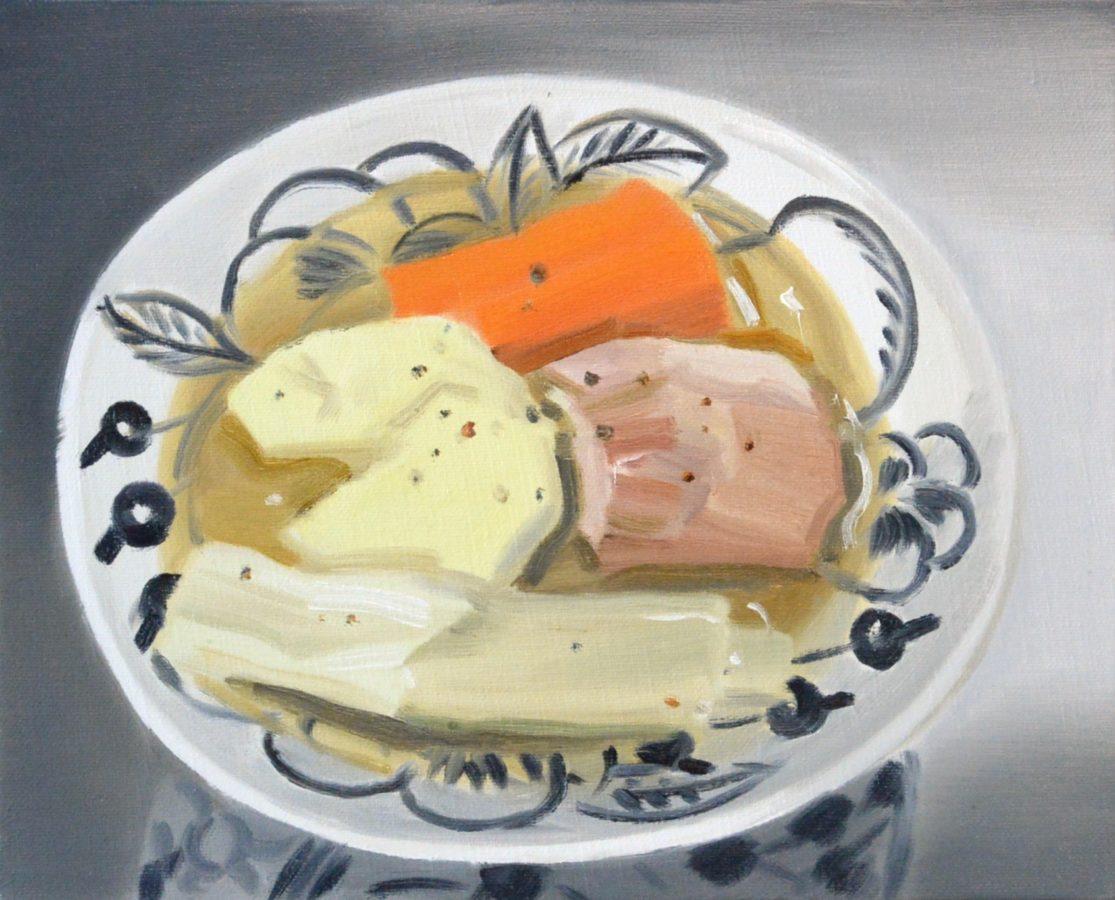 Union Pacific – Ulala Imai - Ulala Imai, Potato Feu, 2020, Oil on Canvas, 27.3 x 22 cm