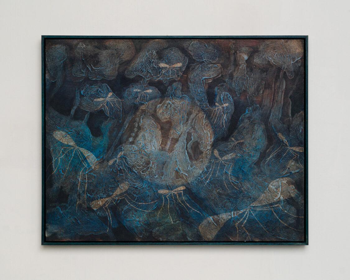 Union Pacific – Martin Aaagaard Hansen - Marsh, 2021. Oil on panel, 53 x 41 cm
